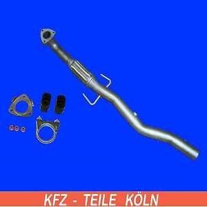Hosenrohr Opel Vectra C 1.9 CDTI Abgasrohr Flexrohr mit Montagesatz