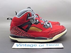 the best attitude 90fc9 79047 Image is loading Nike-Air-Jordan-Spizike-Gym-Red-Toro-Bravo-
