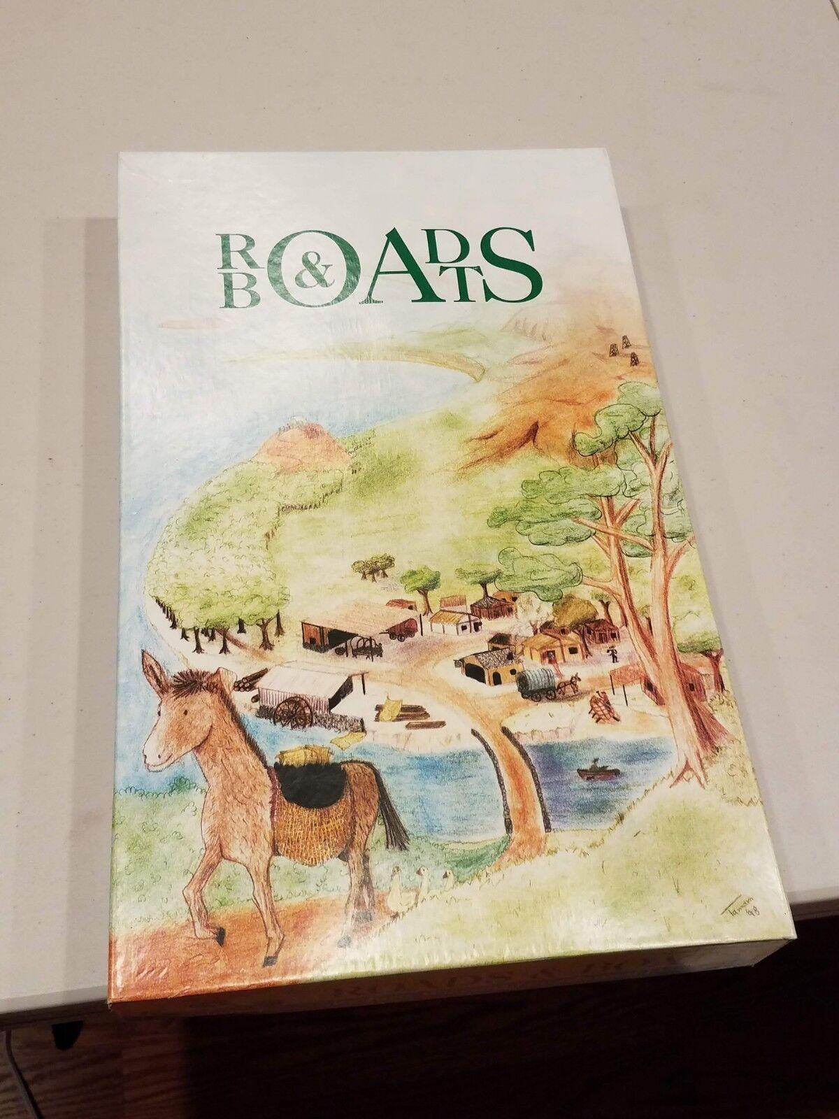 Les  Routes & BATEAUX Board Game (3rd Edition-OUT OF PRINT) en 100% grande forme  garanti