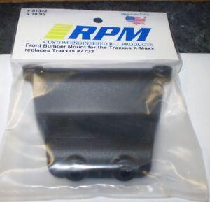 X-Maxx RPM81342 RPM R//C Products Front Bumper Mount Black