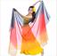 Details about  /Wholesale 6 pieces silk-like Scarves Light Soft Veils 250x120cm Gradient Color