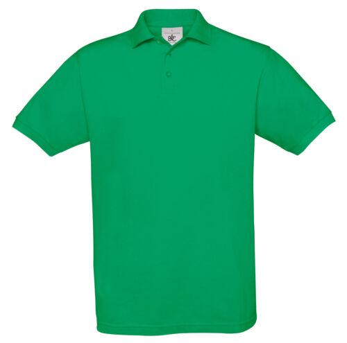B/&c collection Safran Manches Courtes Polo Shirt PU409-Hommes Plain Sport Smart