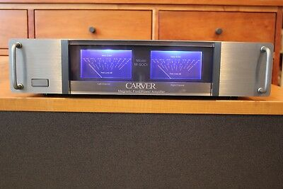 Handles Spacers /& Hardware! Carver M-500t Faceplate BLACK with Bezels