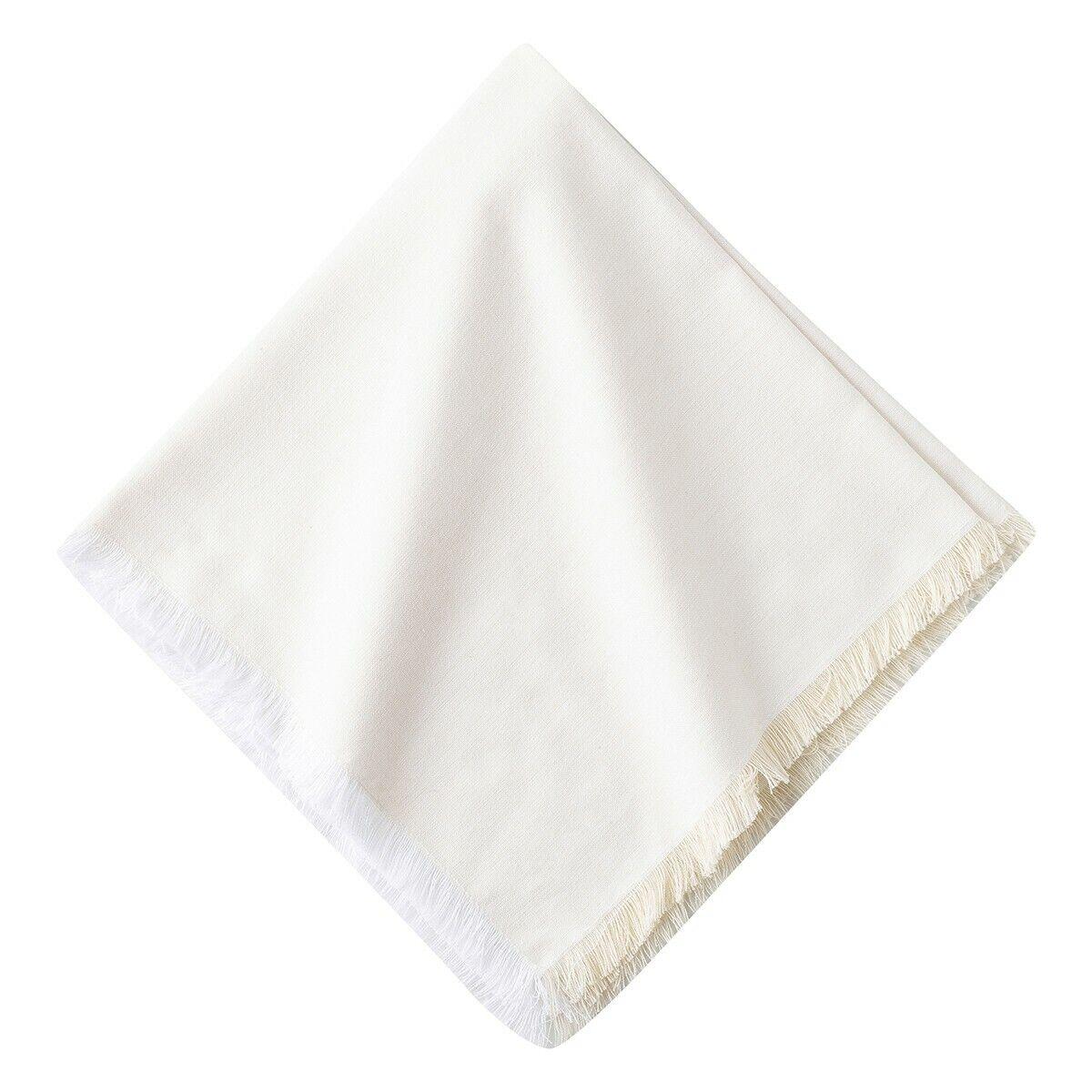 Juliska Essex blancwash serviette-Lot de 4