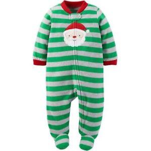 fc6748b83 Child of Mine by Carter s 0-3 M Baby Boy Microfleece Sleep N Play ...