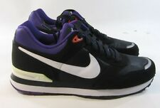 new NIKE MS78 MEN'S BLACK/WHT/VIOLET RUNNING SHOES, #386156-011 size  14 p