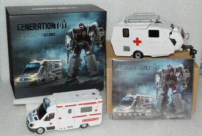 New Transformers Toy GT-08C GT08C Guardian Bulance G1 Defensor First Aid instock
