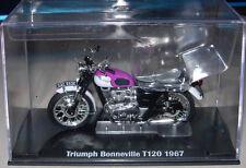 IXO DIECAST Triumph Bonneville T120 Motocicleta Nuevo Y Sellado Escala 1:24 G