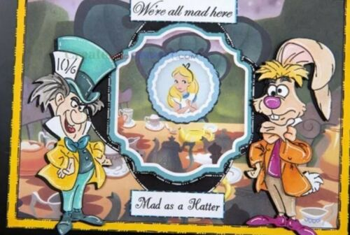 March Hare Metal cutting Die From Alice in Wonderland Cardmaking Scrapbook Book