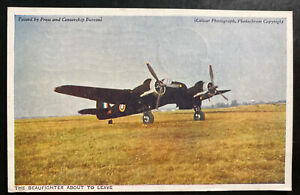 1945 USA Air Force PO 557 Picture Postcard Cover To York PA Beau-fighter