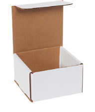 1 500 Choose Quantity 5x5x3 Corrugated White Mailers Packing Boxes 5 X 5 X 3