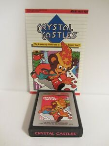 Details about Atari 2600 - Crystal Castles and Instructions by Atari VGC  (119DJ18)