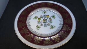 Canada-Coats-of-Arms-amp-Emblems-Soliam-Ware-Simpson-Decorative-Plate