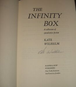 Signed-1st-edition-in-Dust-Jacket-of-The-Infinity-Box-by-Kate-Wilhelm-1975-Nice