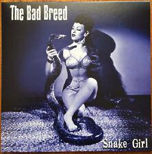 """THE BAD BREED SNAKE GIRL DANGERHOUSE SKYLAB RECORDS 10"""" LP VINYLE NEUF NEW VINYL"""