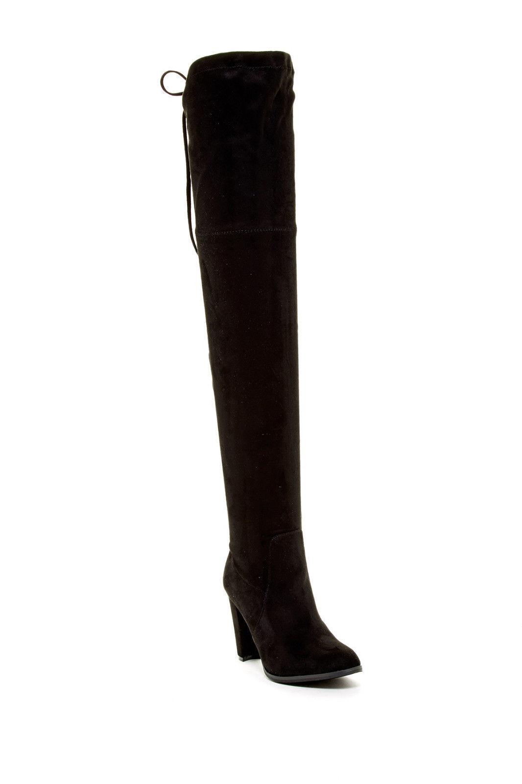 Catherine Malandrino Sorcha Suede Over-the-Knee 10 Black Boot New