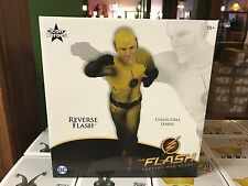 2017 Icon Heroes The Flash TV Series REVERSE FLASH Figure Collectible Statue MIB