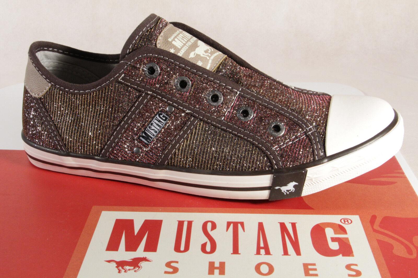 Mustang Pantofola scarpe da ginnastica Scarpe da Ginnastica Basse Mora Stoffa Suola in GOMMA