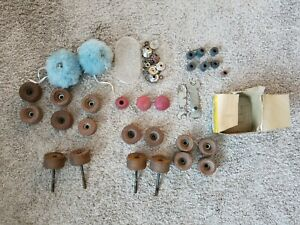 Vintage-Lot-of-Roller-Skate-Bearings-Wheels-Accessories