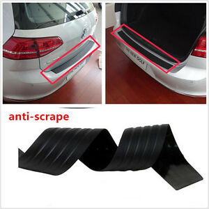 Black-Door-Sill-Guard-Car-SUV-Body-Bumper-Protector-Trim-Cover-Protective-Strip