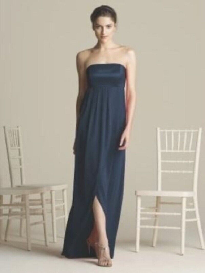 After Six Bridesmaid, Mother of the bride Dress..# 6578....Midnight....Size 2 UK