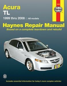 1999 2008 acura tl haynes service manual new owners book shop ebay rh ebay com 1999 acura tl owners manual 1999 acura tl service manual free download