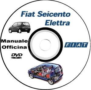 manuale officina fiat seicento elettra ebay rh ebay it Fiat Nuova LS1 1957 Fiat Nuova