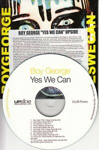 BOY-GEORGE-Yes-We-Can-2008-UK-11-track-promo-only-CD-Pete-Heller-Tom-Stephan