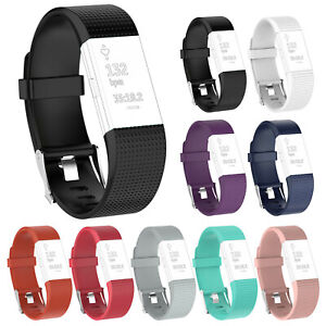 For-Fitbit-Charge-2-Sport-Silicone-Watch-Wrist-Band-Strap-Bracelet-Replacement