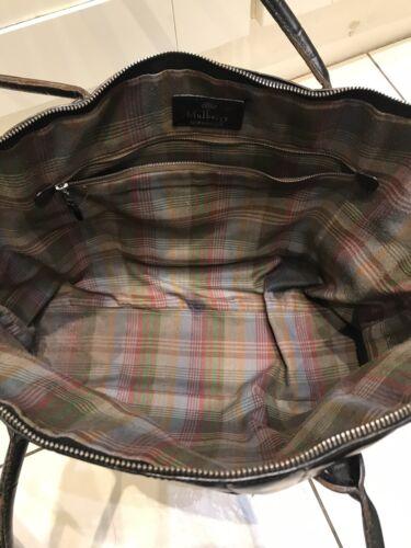 Handbag Black Congo Croc Mulberry Leather Stunning Print H7BnOq