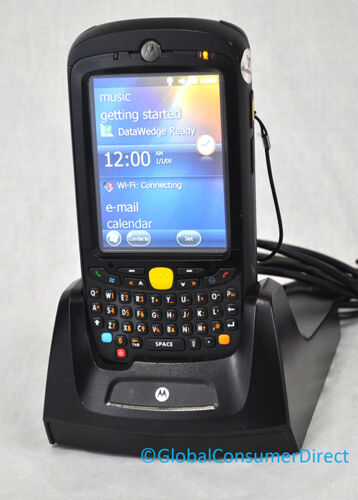 MC55 MC5574-PUCDUQRA9WR Motorola 1D QWERTY Camera GSM Barcode Scanner Cradle