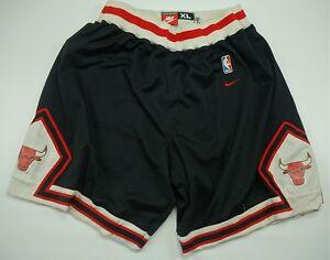 a08783b3137 Rare Vintage NIKE Chicago Bulls 1984 NBA Basketball Game Shorts 80s ...