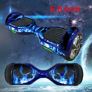 """6.5 """" Self-Balancing Two-Wheel Scooter Skin Hover Skate Board Cover Case Sticker"""
