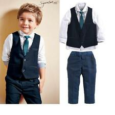baby boy suit vest gentleman clothes for weddings formal clothing