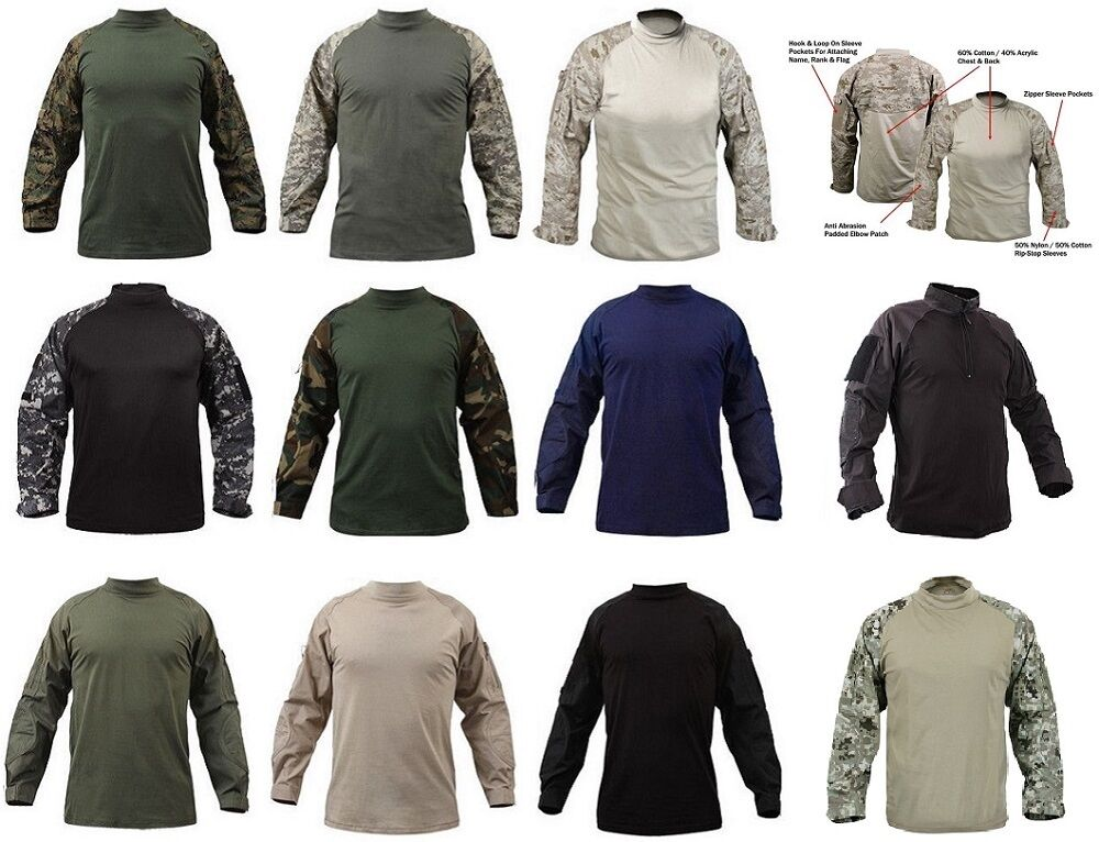 redhco Military Fire  Retardant NYCO Tactical Combat Shirt redhco 90010  save 60% discount