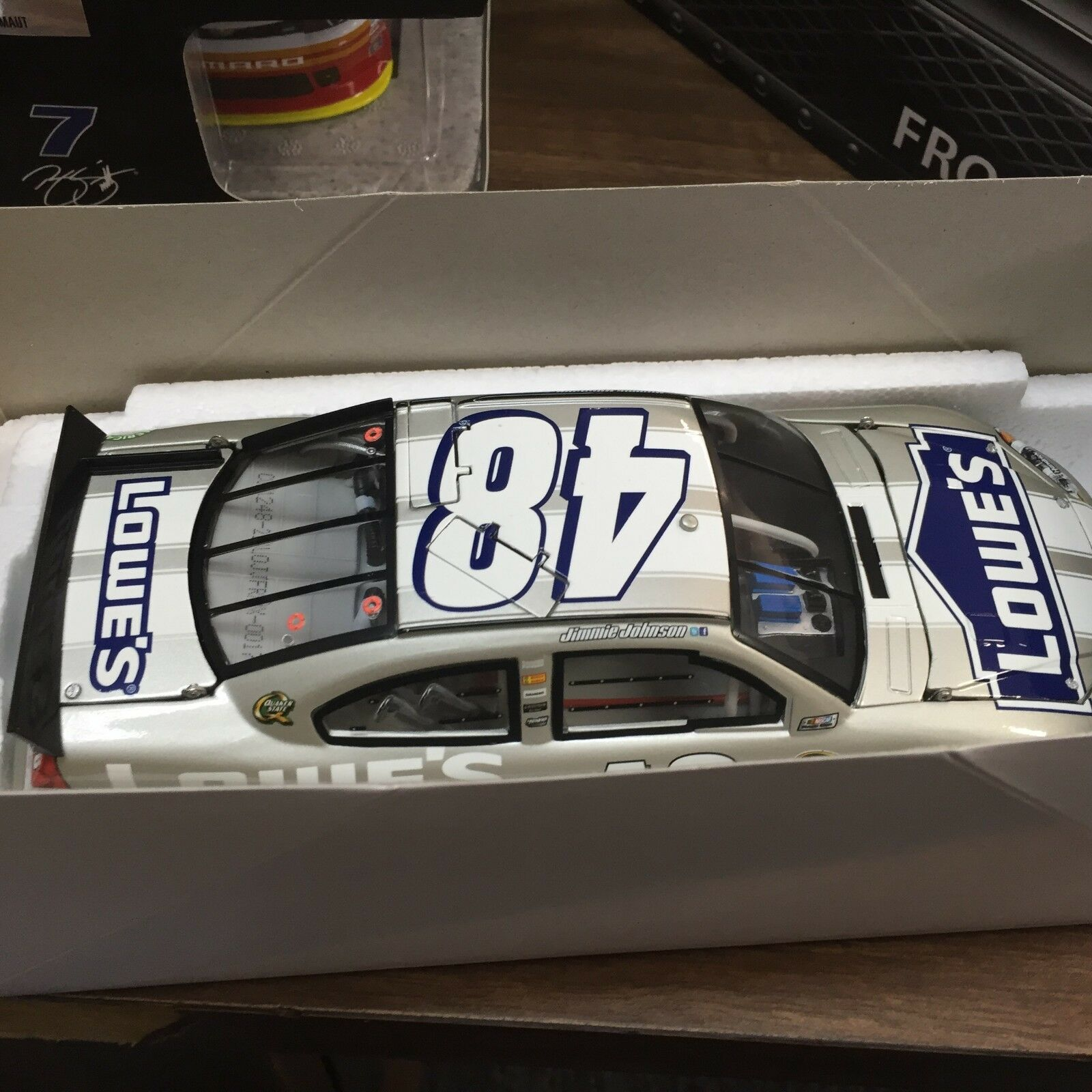 "1 24 ACTION Jimmie Johnson  48 Lowe& 039;s 1 of 348  174 ""FROST"" 2012 Chevy Impala"