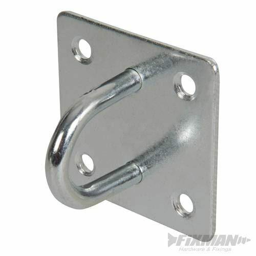 FIXMAN Cadena Placa Electro galvanizado grapas 50mm X 50mm 566783