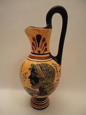 Greek Divine Hero Hercules & Daphne Rare Ancient Greek Pottery Vase Art Hydria