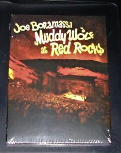 Joe Bonamassa Muddy Wolf At Red Rocksdoppel DVD Im Digipak Veloce Nuovo