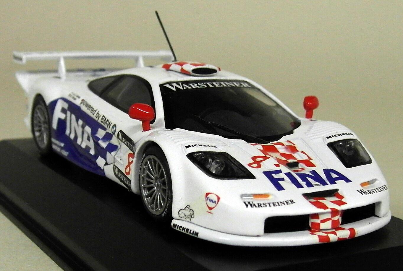 Minichamps 1/43 SCALA Dealer McLaren f1 GTR  8 FIA GT Champ 97 Modello Diecast Auto