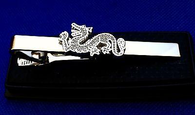 Dragon Tie Clip Chinese Dragon Tie Clasp Gift Idea
