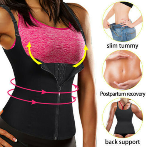 Women Body Shaper Slimming Waist Trainer Cincher Underbust Corset Vest Plus Size