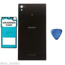 Tapa Trasera Para Sony Xperia Z1 L39h Original Carcasa Bateria + Adhesivo Negra