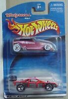 Hot Wheels Walgreens Twin Pack Red & Black Phaeton & Red, Black Rollcage