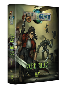 Malifaux Through The BREACH Core Rules Second Edition Wyrd supplement new