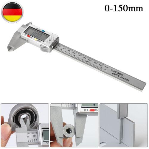 Digitaler Messschieber Schieblehre 0-150mm Handbuch Schublehre LCD Schiebelehre