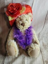 Light The Night Walk For Leukemia /& Lymphoma Society Plush Fishing Teddy Bear