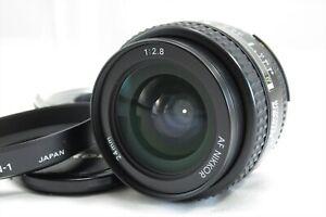 EXC-Nikon-AF-Nikkor-24mm-f-2-8-Weitwinkel-Objektiv-Mit-Kapuze-hn-1-Japan-3160