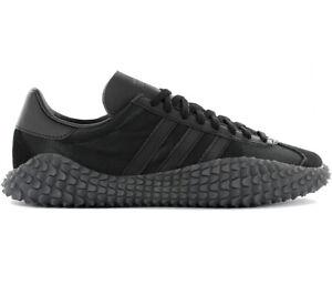 Adidas-Country-x-Kamanda-034-Never-Made-034-Triple-Black-EE3642-Men-039-s-Sneaker-Shoes