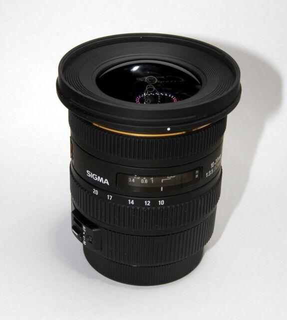Sigma 10-20mm F3.5 EX DC HSM Lens for Canon EF Mount Digital SLR